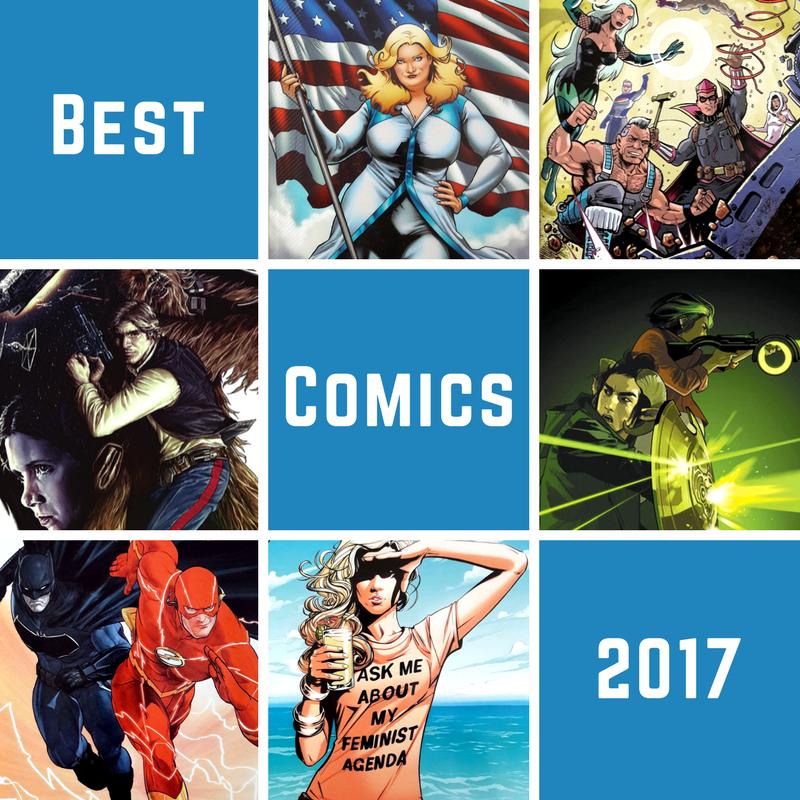 Die besten Comics 2017 / Comic-Jahresrückblick 2017