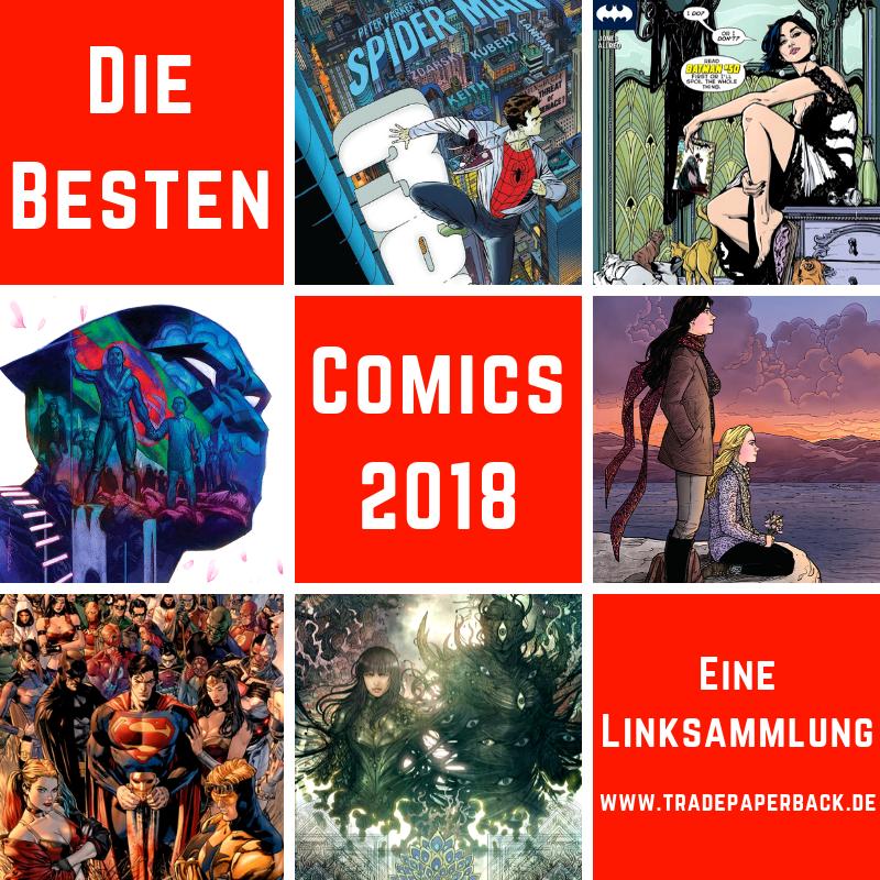 Die besten Comics & Graphic Novels 2018